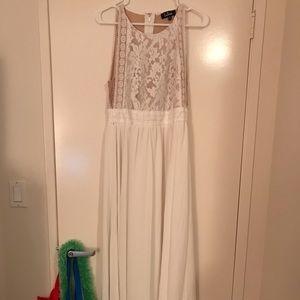 Lulu's| Forever & Always Maxi Dress